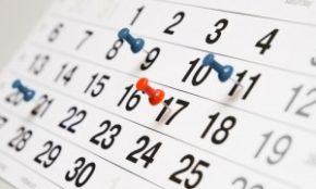 guida alla visita home page -  calendario